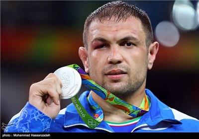 کسب مدال نقره کمیل قاسمی در مسابقات کشتی آزاد - المپیک ریو 2016