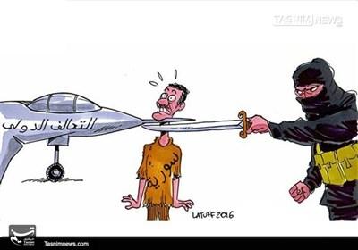 شامی عوام کی گردن پر داعش اور داعش مخالف اتحاد کی تلوار!