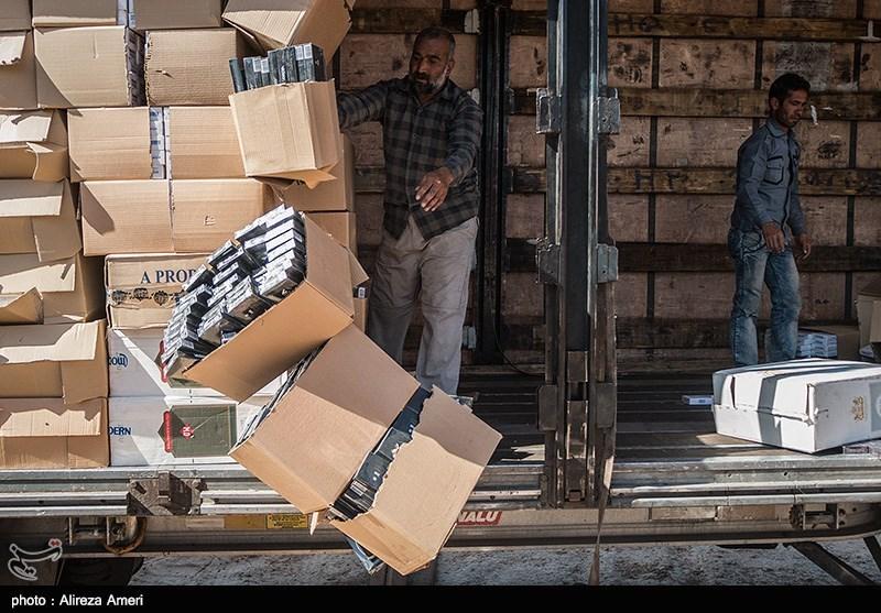 کردستان|بیش از 961 هزار نخ سیگار خارجی قاچاق در سقز کشف شد
