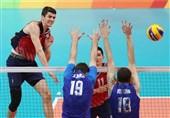 آمریکا با شکست روسیه به مدال برنز والیبال مردان رسید