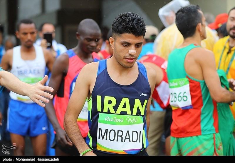 Iran's Moradi Wins Gold in Half Marathon in Beirut