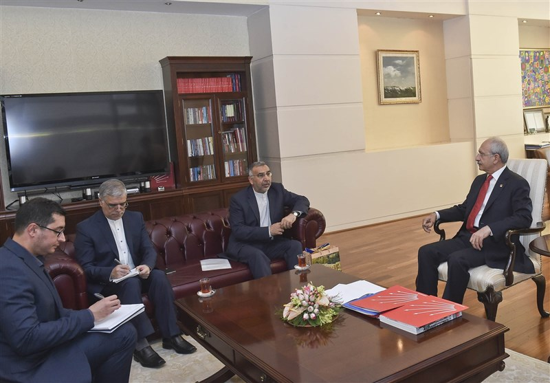 İran'ın Ankara Büyükelçişi, Kılıçdaroğlu ile Görüştü
