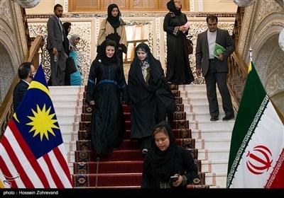 دیدار رییس مجلس مالزی با لاریجانی