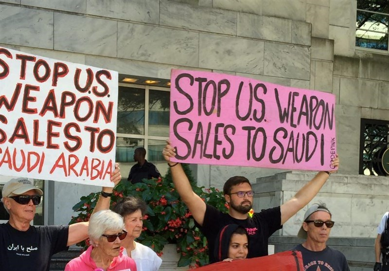 Rights Activists Stage Anti-Saudi Rally in US Capital (+Photos)
