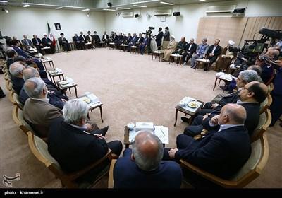 Iran's President, Cabinet Members Meet Ayatollah Khamenei