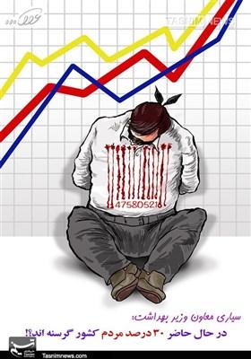 کاریکاتور/ مردم قربانی اصلی گرانی در جامعه