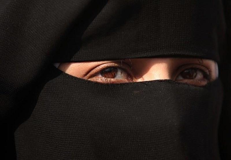 زن آلمانی با حجاب