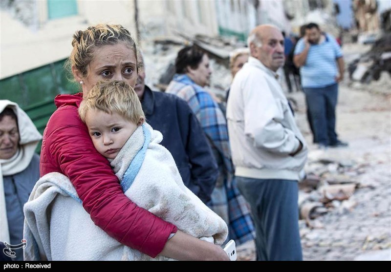 تلفات زلزله ایتالیا٬ عکس های خسارات زلزله ایتالیا٬ عکس های زلزله٬ عکس های زلزله در ایتالیا