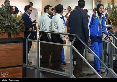کیمیا علیزاده دارنده مدال برنز در رشته تکواندو المپیک و نخستین بانوی مدال آور ایران در رقابت های المپیک ریو 2016