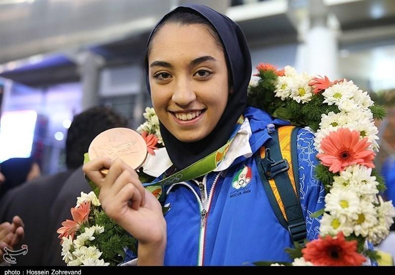 """اهدا یک واحد آپارتمان به """" کیمیا علیزاده""""؛ بانوی مدالآور ایران در المپیک"""