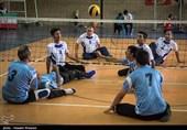 مسابقات والیبال نشسته جانبازان و معلولین شیراز