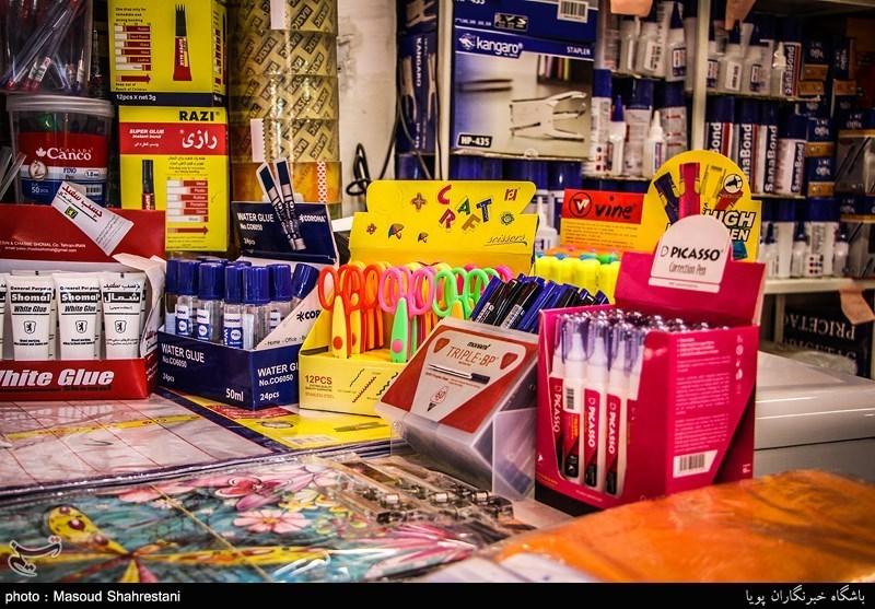 اصفهان| پای حرف مردم در بازار لوازم التحریر؛ خریدارانِ حیرت زده تماشاگر گرانیها