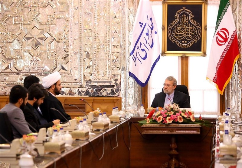 Larijani further reiterated iran s support for the iraqi government