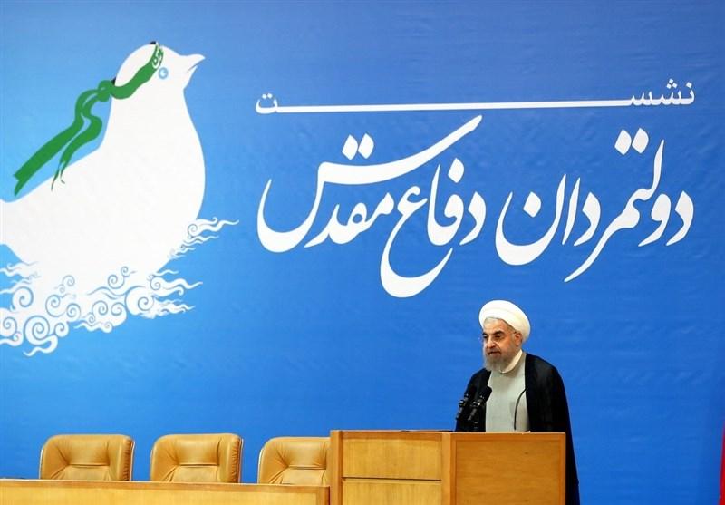روحانی: مصدر الإرهاب ینبع من احتلال العراق وافغانستان