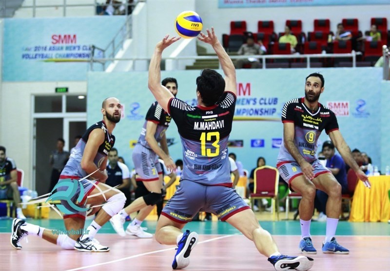 Bank Sarmayeh Downs Taiwan Power at Asian Club Volleyball Championship