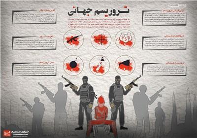 اینفوگرافیک/تروریسم جهانی