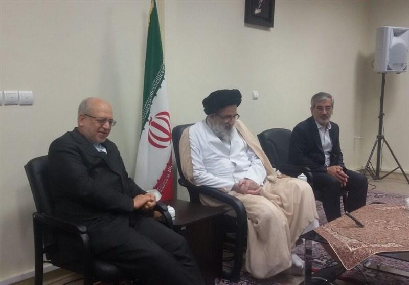 دیدار وزیر صنعت و نماینده ولی فقیه در استان البرز
