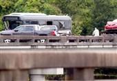 43 کشته و زخمی در حادثه تصادف در لوئیزیانای آمریکا + عکس