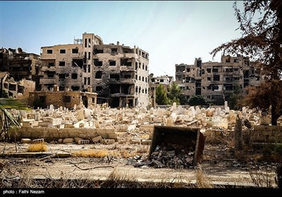 Syria's Darayya after Militants Evacuation