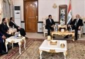 دیدار هیئت جنبش انصارالله با وزیر خارجه عراق در بغداد