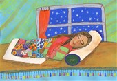 نقاشی نورا حسینی