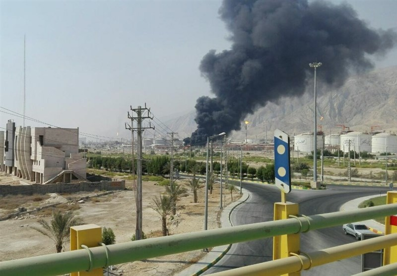 Fire Under Control at Iran's South Pars Gas Field