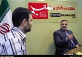 بازدید احمد ابوالقاسمی از باشگاه خبرنگاران پویا