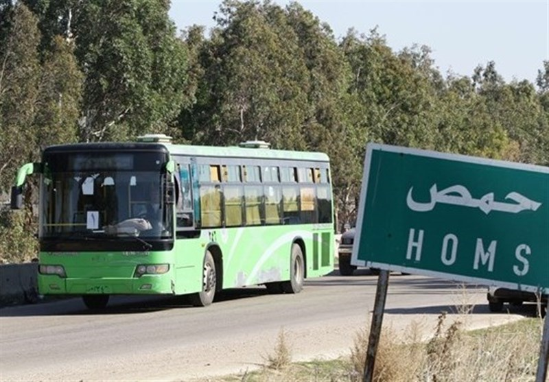Humus Suriye Ordusunun Kontrolünde