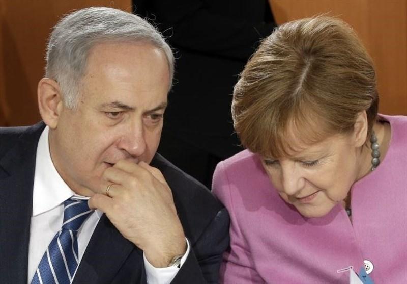 نتانیاهو مرکل