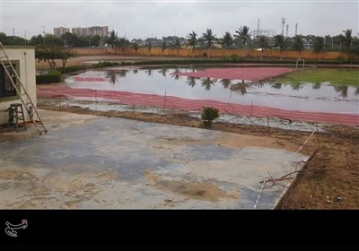 بارش کے بعد کراچی کی سڑکیں