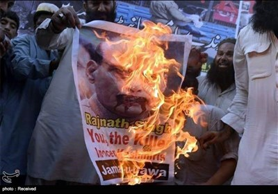 بھارتی وزیر داخلہ کی اسلام آباد آمد پر احتجاجی ریلیاں