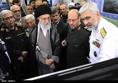 Image result for تصاویر دیدار رهبری در صنایع دفاعی