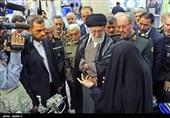بازدید رهبر معظم انقلاب از نمایشگاه صنعت دفاعی و دیدار با مسئولان و متخصصان وزارت دفاع