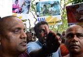 Protesters Descend on UN as Ban Ki-Moon Visits Sri Lanka
