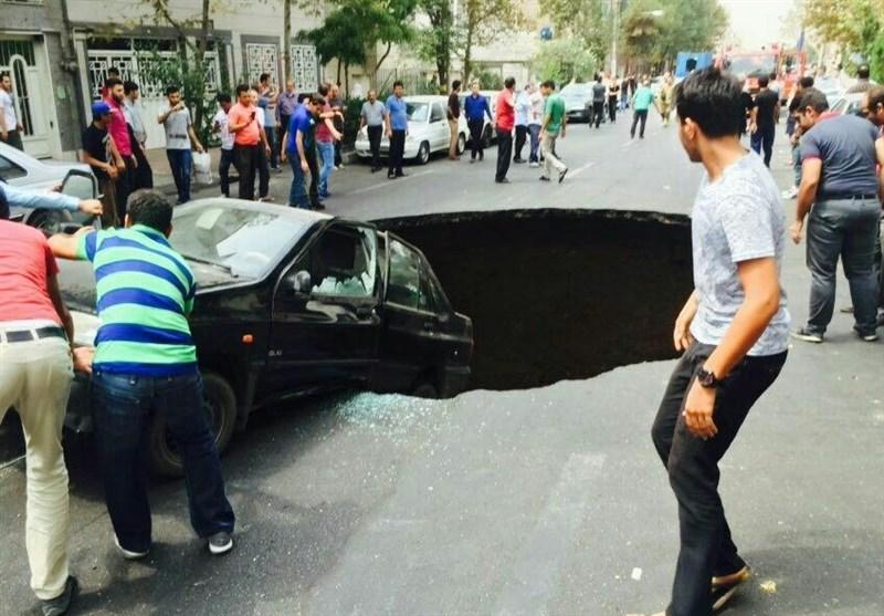 «نشست زمین» در تهران اجتنابناپذیر است/ نقاط حادثهخیز قابل پیشبینی نیست