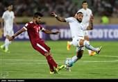 دیدار تیمهای فوتبال ایران و قطر