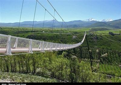 بزرگترین پل معلق خاورمیانه - اردبیل