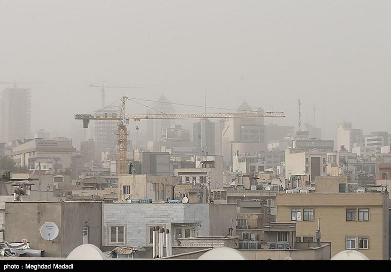 ترکمنستان، افغانستان، امارات و کشورهای حاشیه خلیج فارس منشأ گرد و غبار ایران