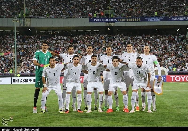 میانگین سنی قابلقبول تیم ملی برای بازی اول