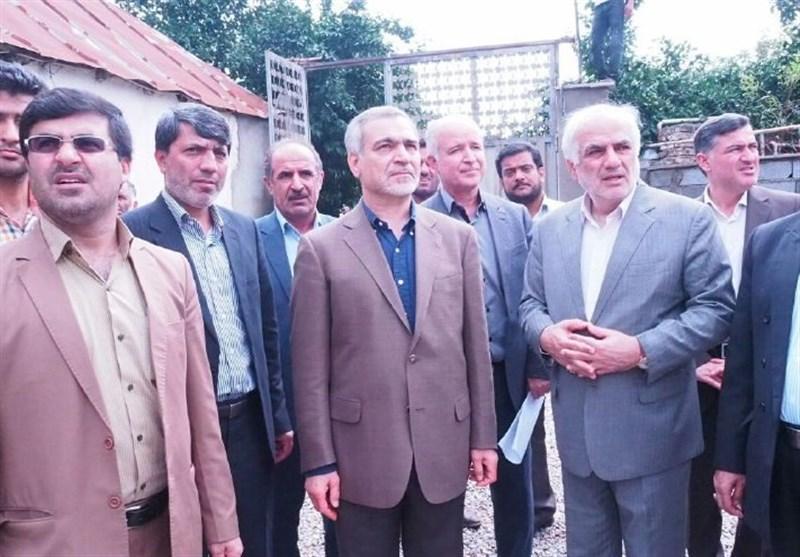 بازدید حسین فریدون از مناطق سیلزده قائم شهر