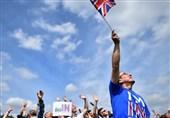 تظاهرات مخالفان خروج بریتانیا از اتحادیه اروپا