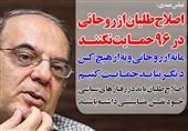 فوتوتیتر/عباس عبدی:اصلاحطلبان از روحانی در 96 حمایت نکنند