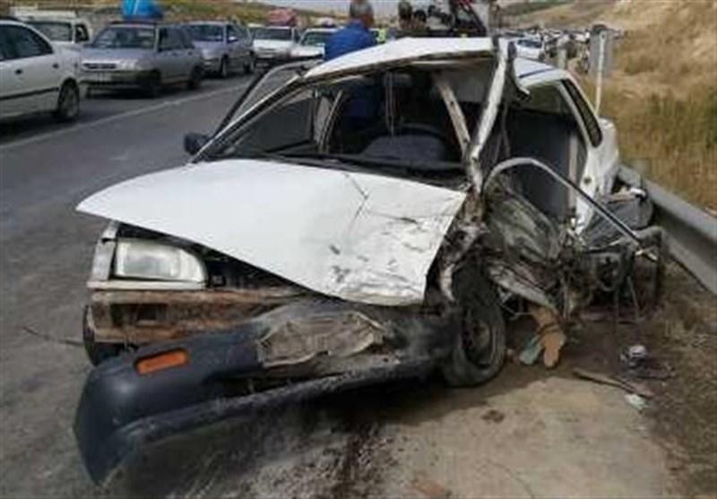 سقوط پراید در جاده باغچه سادات 4 کشته و یک مجروح برجای گذاشت