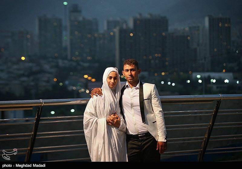 جشن ازدواج پانصد زوج جوان در برج میلاد
