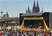 تظاهرات علیه اردوغان در شهر «کلن» آلمان