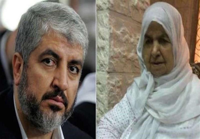 درگذشت مادر «خالد مشعل» در اردن
