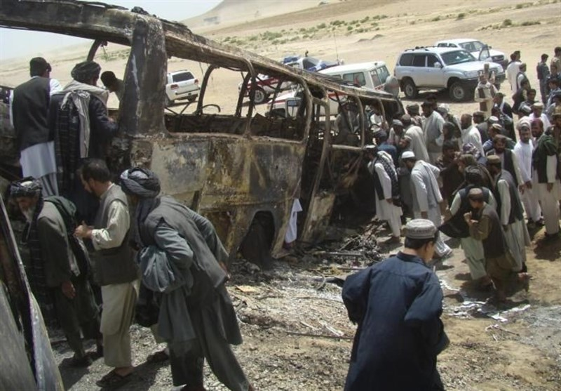 36 کشته در تصادف مرگبار جنوب افغانستان