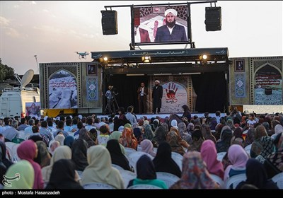 سالگرد شهدای منا در بندر ترکمن