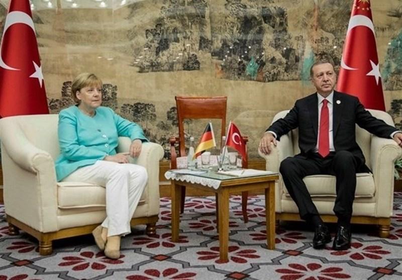 دیدار سازنده مرکل و اردوغان در حاشیه نشست گروه 20