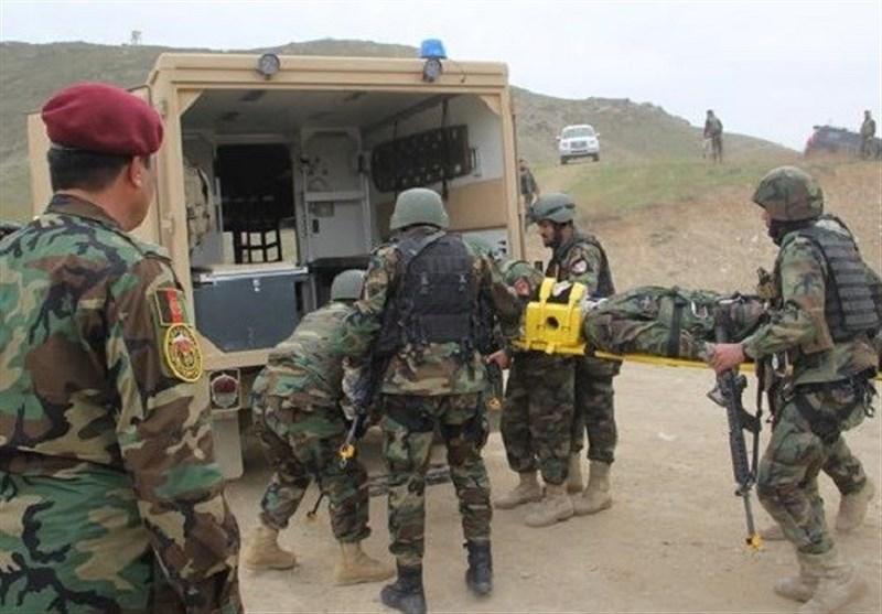 تلفات نیروهای افغان